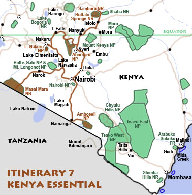 Itinerary 7: Kenya essential