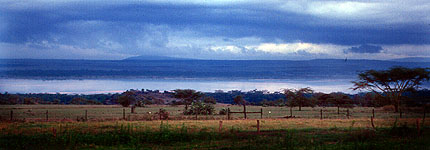 View from Lake Elementaita Lodge. Javier Yanes/Kenyalogy.com