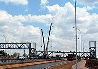 Construction of Thika superhighway. Stephenwanjau via Wikipedia